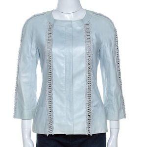Chanel leather jacket size m